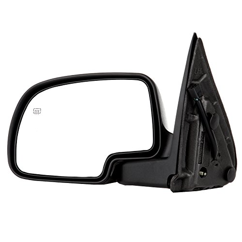 ECCPP Towing Mirror For 2000-2002 Chevy Avalanche Suburban Tahoe GMC Yukon XL Power Heated Puddle Light Left Driver Side Mirror GM1320249 128-02973L 15179836