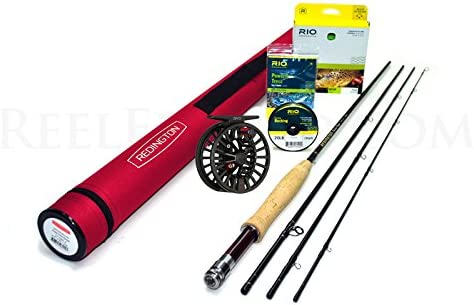 Redington Classic Trout 376-4 Fly Rod Outfit 7 6 , 3wt, 4pc