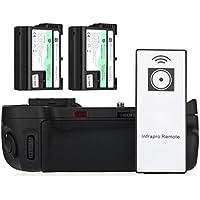 Powerextra MB-D15 Battery Grip + 2 × High Capacity 2200mAh EN-EL15 Batteries With Infrared Remote Control for Nikon D7100 D7200 Digital SLR Camera