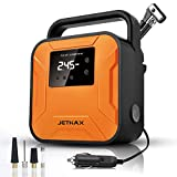 Best Auto Tire Inflators - JETHAX Air Compressor Tire Inflator, 12V Portable Air Review