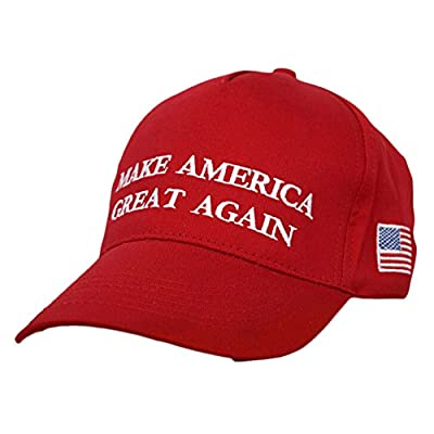 LXY Unisex Embroidered Baseball Cap Hip Hop Adjustable Hat Make America Great Again