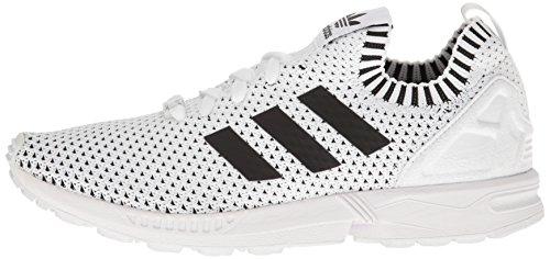 Baskets Flux Noir Adidas Zx Hommes S76530 Blanc Pour ataqOB