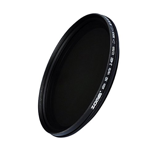 ZoMei Ultra Slim Adjustable Variable Neutral Density ND2-400 Camera Lens Filter-82mm