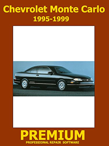 Chevrolet Monte Carlo Repair Software (DVD) 1995 1996 1997 1998 1999