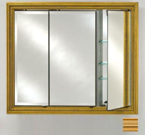 Afina td4736rromgd Triple puerta empotrada botiquín con marco, Romano, 47