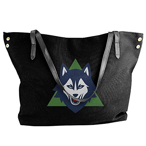 (YongQingHui Wolf Series B99 Women's Washable Canvas Shopping Bag Cloth Shopping Bags Perfect For Crafting Decorating)