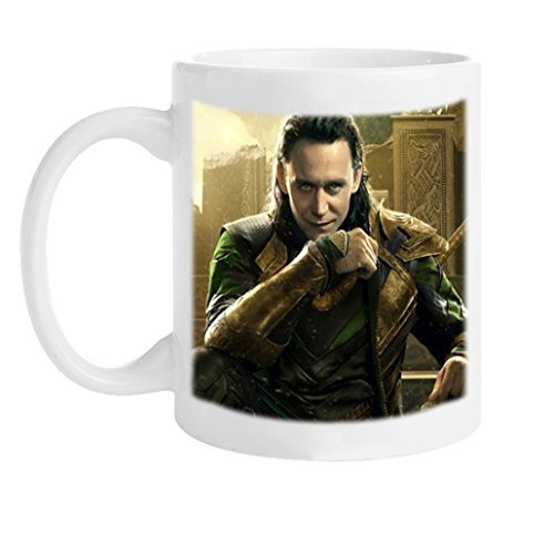 Hou Gong - Loki Tom Hiddleston Custom Personalized high quality White ceramic water Coffee Mug ()