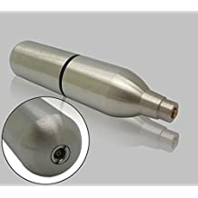 12g Rechargeable / Reusable / Refillable Co2 Cyliner Capsule for Airsoft Airgun Pistol Crosman 2240