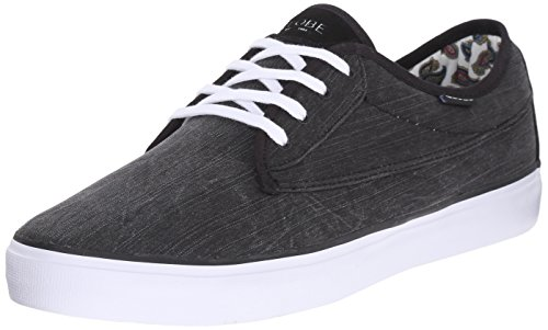 Globe Men's Moonshine Casual Shoe Black/White/Paisley shopping discounts online cheap sale official site low price fee shipping for sale 7uh0oKV3dR