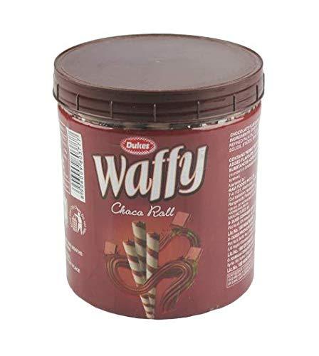 Dukes Waffy Rolls Jar – Chocolate, 250 g