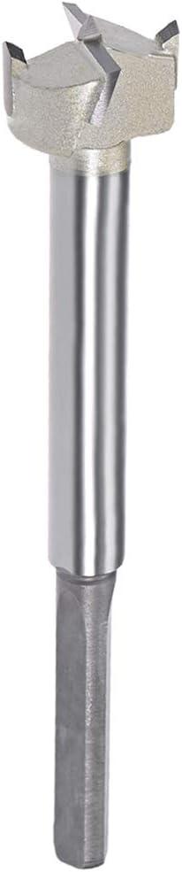 8mm Shank 5-Inch Length uxcell 22mm Hinge Boring Forstner Drill Bit