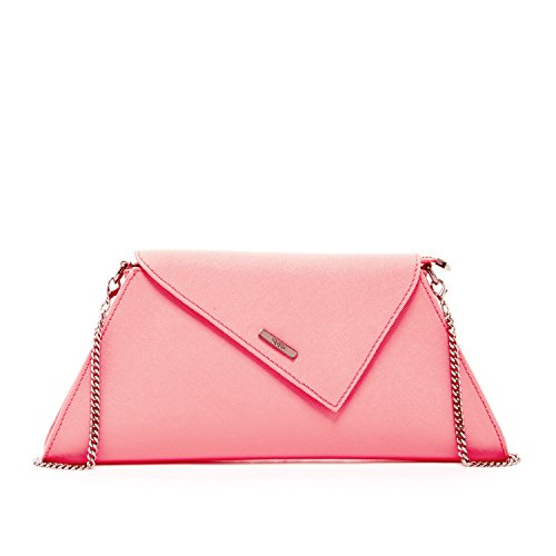 Eevening Clutch Purses for Women Saffiano Leather Envelope Clutches and Purse Millennial Pink Crossbody Blush iPhone Bag & Party Night Designer Dressy Wedding Cross body Handbags Cute Bridal it Bags