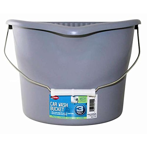 Eckler's Premier Quality Products 55-314595 Car Wash Bucket, 3 Gallon