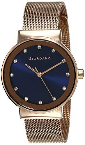 Giordano Analog Blue Dial Women's Watch-A2047-44