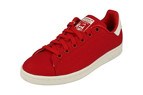 Adidas Originals Stan Smith Dames Sneakers Sneakers (uk 8 Us 9.5 Eu 42, Red White Bb3970)