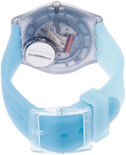 Swatch Mixte Digital Quartz Montre avec Bracelet en Silicone GM185