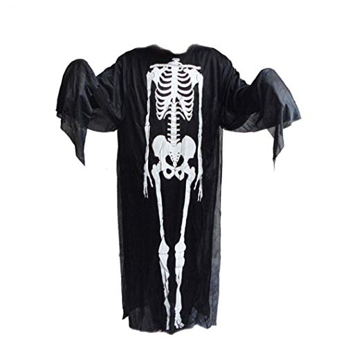 Livoty Halloween Monster Ghost Cover up Tunic Tapestry Clothes Party Home Decor Prop Wallhaning Roomdorm (Clothes) -