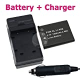 BATTERY+CHARGER FOR OLYMPUS STYLUS 1050 850 790 7000 SW