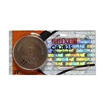 Amazon Com Maxell Cr2025 3v Lithium Coin Cell Battery