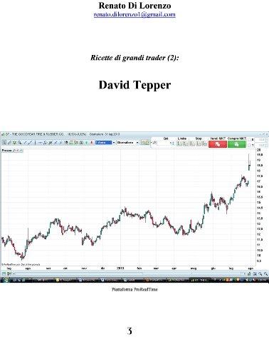 David Tepper (Ricette di grandi trader Vol. 2) (Italian Edition)