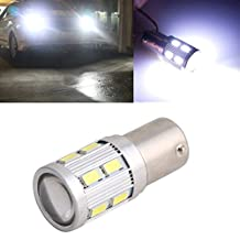 NNDA CO 1pc White P21W S25 5630 12 SMD LED 1156 BA15S Car Tail Signal Brake Light Bulb