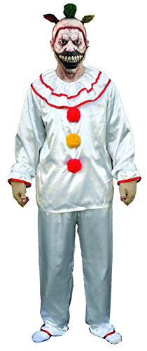 Twisty The Clown Costume For Halloween (Trick or Treat Studios Men's American Horror Story-Twisty The Clown Costume, Multi, One Size)