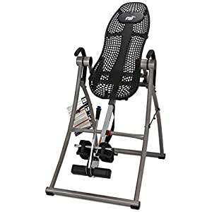 Teeter Contour L5 Inversion Table, Deluxe Easy to Reach Ankle Lock, Back Pain Relief, FDA Registered