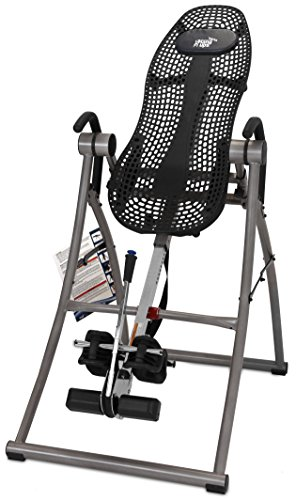 Teeter Contour L5 Inversion Table with Deluxe Easy to Reach Ankle Lock, for Back Pain Relief, FDA Registered, 3rd Party Safety Certified, Precision Engineering