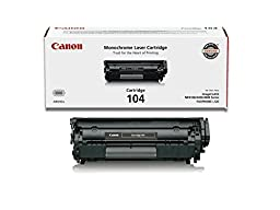 Canon Original 104 Toner Cartridge - Black