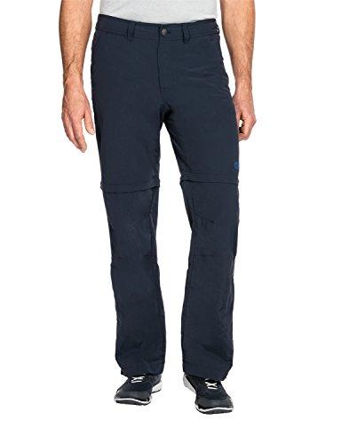 Jack Wolfskin Men's Canyon Zip Off Pants, Night Blue, 28 (US 39/31)