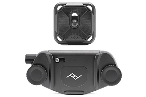 - Peak Design Capture Camera Clip V3 (Black with Plate)