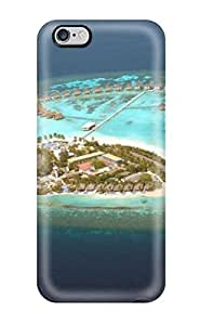 Awesome Design Maldives Holidaycentara Grand Island Hard Case Cover For Iphone 6 Plus(3D PC Soft Case)