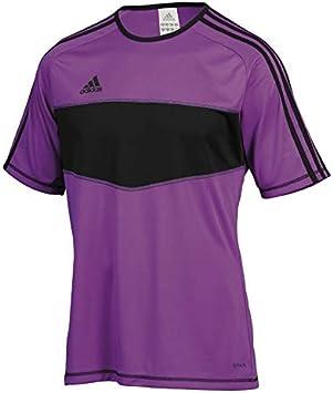 adidas Entrada, Camiseta, Morada-Negra, Talla 2XL: Amazon.es: Deportes y aire libre