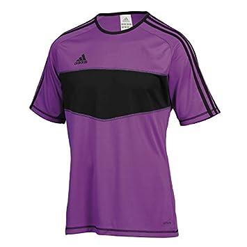 adidas Camiseta Entrada Morada-Negra Talla S: Amazon.es: Deportes y aire libre
