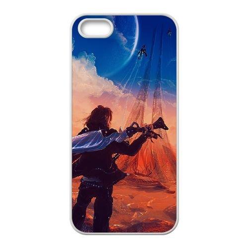 Final Fantasy 004 coque iPhone 4 4S Housse Blanc téléphone portable couverture de cas coque EOKXLLNCD11301