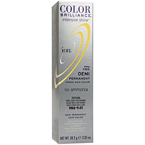 Intensive Shine 9NA Very Light Ash Blonde Demi Permanent Creme Hair Color