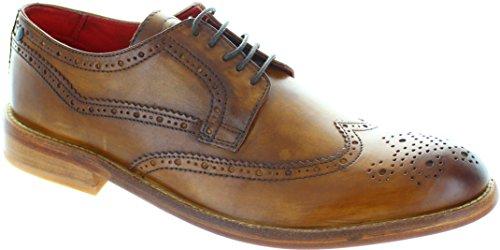 Inglese Men Base London Shoes Vintage Analog Tan Scarpa B1010 pwvqff