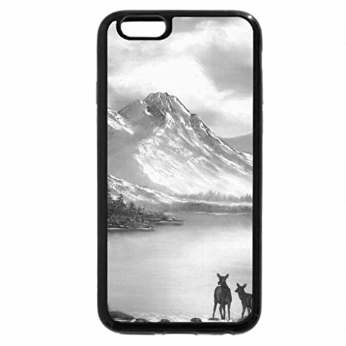 iPhone 6S Plus Case, iPhone 6 Plus Case (Black & White) - ON TOP OF OLD SMOKEY