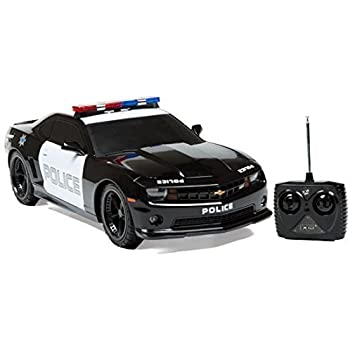 Amazon.com: 1:18 Licensed Chevrolet Camaro Police Car RC ...