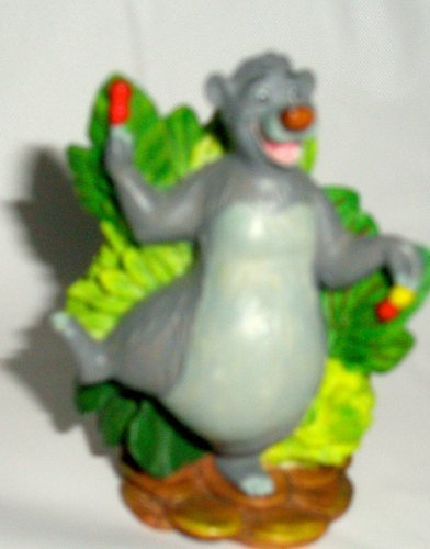 Thimble Disney Lenox - Disney Lenox The Disney Magic Thimble Collection Baloo Jungle Book Figurine