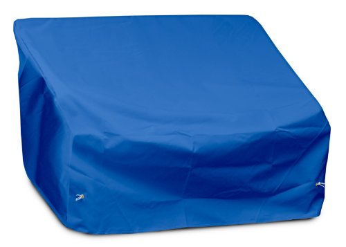 KOVERROOS Weathermax 02350 2-Seat/Loveseat Cover, 54-Inch Width by 38-Inch Diameter by 31-Inch Height, Pacific Blue by KOVERROOS