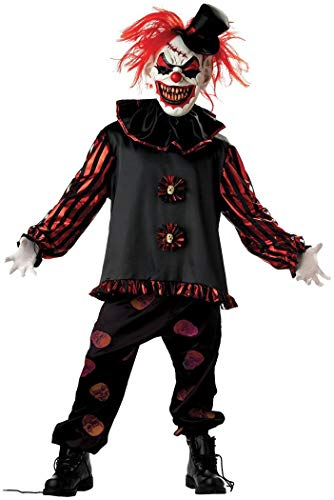 Morris Costumes Carver The Clown Child Large