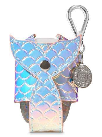 Bath and Body Works Iridescent Mermaid Tail Pocketbac Holder.