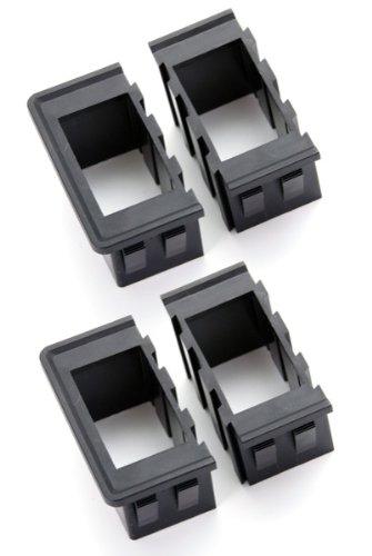 Rugged Ridge 17235.20 Black Rocker Switch Housing Kit