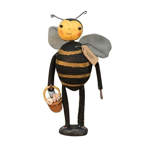 CWI Gifts Lil' Buddies Bumblebee Doll On Base, 9