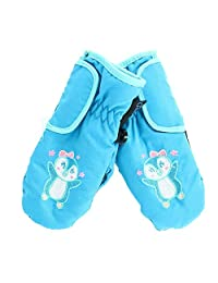 Grand Sierra Toddlers Girls' 2-4 Embroidered Waterproof Mittens, Penguin