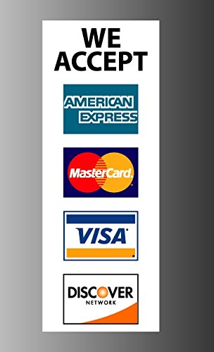 credit-card-sign-visa-mastercard-amex-discover-vinyl-sticker-decal-8-x-3