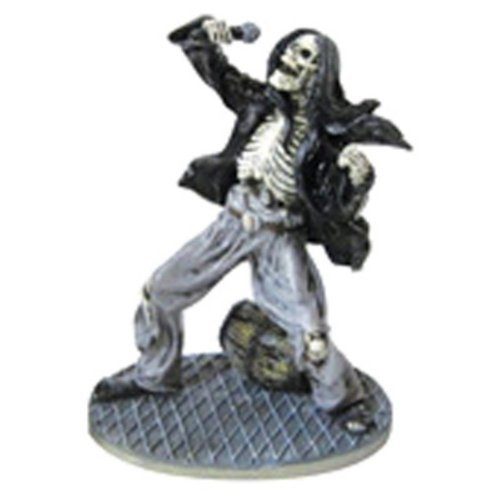 Penn-Plax Rock Star Skeleton Vocalist 6in by (Penn Plax Skeleton)