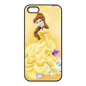 Beauty and the Beast lovely girl Cell Phone Case for iPhone 5S by Maris's Diary