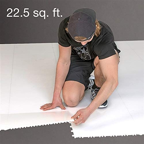 Better Hockey Extreme Dryland Flooring Tiles 10-Pack - Size 22.5 sq. ft. - Premium Training Aid for Shooting, Passing and Stickhandling - Extremely Good Glide with Regular Pucks - Used by The Pros